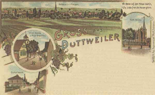 Farbpostkarte (ca. 1899)